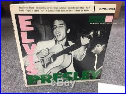 ELVIS PRESLEY EPB 1254 DOUBLE 45 RPM 7 EP White LABEL Promo Record Not For Sale