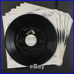 ELVIS PRESLEY, ETC Great Country Western Hits 45 10 EP box set, complete with