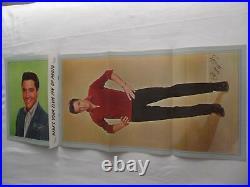 ELVIS PRESLEY EX++ 1963 Gold Records Vol. 3 PICTURE FOLIO POSTER EX+