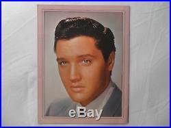 ELVIS PRESLEY EX++ 1963 Gold Records Vol. 3 PICTURE FOLIO POSTER EX++
