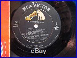 ELVIS PRESLEY Elvis' Christmas Album 1957 RCA Victor Label(WithBooklet)
