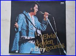 ELVIS PRESLEY Elvis´ Golden Records 4LP 70s BOX-SET MADE IN SWITZERLAND