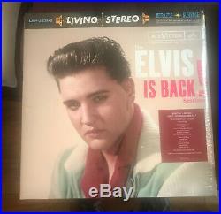 ELVIS PRESLEY Elvis Is Back Sessions 2lp FTD Living Stereo SEALED Save $30 PT