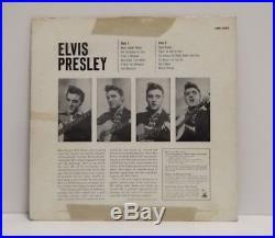 ELVIS PRESLEY Elvis Presley Original Press Mono LP RCA Victor 1956 LPM 1254