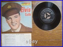 ELVIS PRESLEY Elvis Sails JAPAN EP EP-1348 Vinyl Cover Poly-Lined Baggy Sleeve
