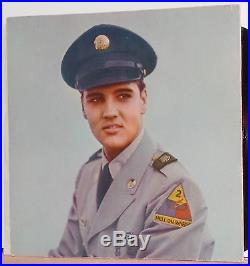 Elvis Presley For Lp Fans Only Original Canadian Flat Black Label Mint- Lp