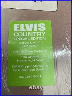 ELVIS PRESLEY FTD VINYL Elvis Country In Shrink Mint Unplayed. Deleted Now