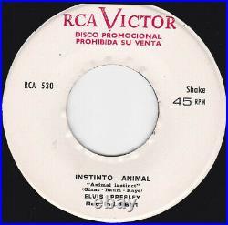 ELVIS PRESLEY Fiesta en el Harem Ultra rare Orig PROMO 1965 PERU 45