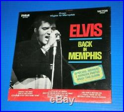 ELVIS PRESLEY From Memphis To Vegas (LSP-6020) SEALED withRARE Shrink Sticker