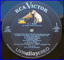 Elvis Presley G. I. Blues Soundtrack Lp Lsp-2256 Living Stereo Original