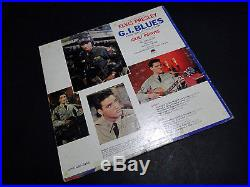 ELVIS PRESLEY G. I. Blues 1960 Living Stereo LP with Wooden Heart Sticker 1S/1S