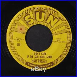 ELVIS PRESLEY Good Rockin' Tonight 45 Hear! (check clips) rare Rockabilly