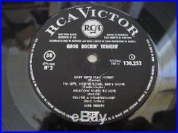 ELVIS PRESLEY Good Rockin' Tonight FRENCH RCA VICTOR ten inch LP superb EX+