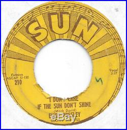 ELVIS PRESLEY Good Rockin' Tonight on Sun RARE rockabilly 45