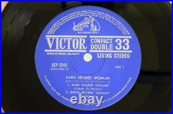ELVIS PRESLEY HARD HEADED WOMAN VICTOR SCP-1243 Japan FLIPBACK JAPAN-ONLY-EP 7