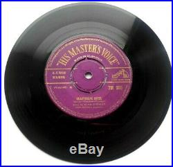 ELVIS PRESLEY HEARTBREAK HOTEL 7 Vinyl HMV 45 7M 385 PURPLE GOLD 1956