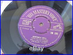 ELVIS PRESLEY Heartbreak Hotel 1956 GOLD HMV REMOVABLE CENTRE superb EX