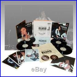 ELVIS PRESLEY Huntsville 1975 Box Set Complete Edition LP CD DVD BAG POSTER CARD