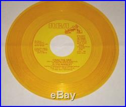 ELVIS PRESLEY I Was The One Gold Vinyl 45 rpm