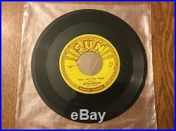 ELVIS PRESLEY I'm Left You're Right 45 rpm SUN #217 1955 ORIGINAL 3 PUSH MARKS