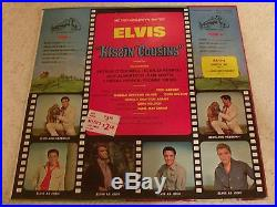 ELVIS PRESLEY KISSIN COUSINS 1964 RCA LPM-2894 MONO IN BAGGY WithBONUS PHOTO