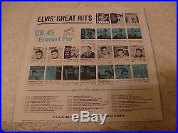 ELVIS PRESLEY KISSIN' COUSINS 1964 RCA LPM-2894 MONO NO CAST COVER WithBONUS PHOTO