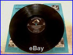 ELVIS PRESLEY KISSIN COUSINS 1964 RCA LSP-2894 WithRARE PHOTO & MOVIE AD