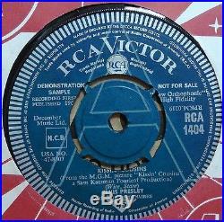 Elvis Presley Kissing Cousins Original Uk Rca Victor 45 Demo Mint