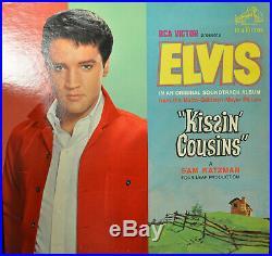 ELVIS PRESLEY Kissin' Cousins RCA LPM-2894 EX Rock LP Mono Early Pressing