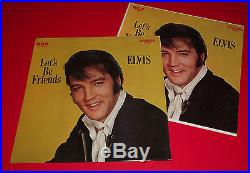 ELVIS PRESLEY LETS BE FRIENDS org 1970 RCA MINT SEALED IN STORE DISPLAY promo