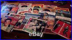 Elvis Presley Lot Of 22 Eps 45s Picture Sleeves Epa 727 Tender 4054 Jailhouse