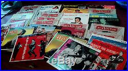 ELVIS PRESLEY LOT OF 33 LPS 45S EPS 78 PIC DISC SHEET S/T EP EPA 747 CHRISTMAS