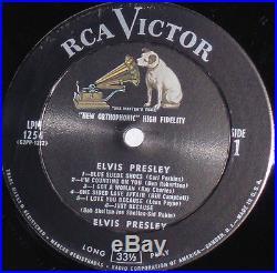 ELVIS PRESLEY LPM -1254 ORIGINAL 1956 U. S COPY MINT, MINT, MINT. LP