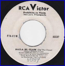 ELVIS PRESLEY Loco por las Muchachas Ultra rare Orig PROMO 1965 PERU 45