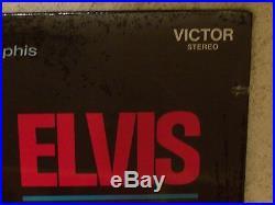 ELVIS PRESLEY MEMPHIS TO VEGAS 1969 RCA LSP-6020 WithMEGA RARE HYPE STICKER