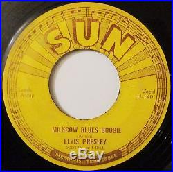 Elvis Presley Milkcow Blues Boogie Sun Records #215-rockabilly 45