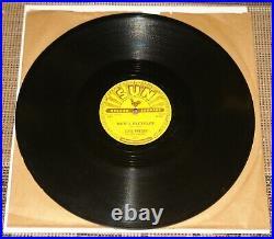 ELVIS PRESLEY MILKCOW BLUES BOOGIE b/w HEARTBREAKER USA SUN 78 RPM E- EX MINUS