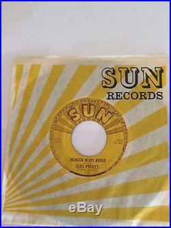 Elvis Presley, Milkcow Blues, Original Sun 45