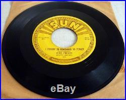 Elvis Presley, Mystery Train Original And Genuine 1955 Sun Records 45 Single