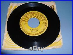 Elvis Presley Mystery Train Sun-223 Vinyl In Vg+ 1955 Pressing