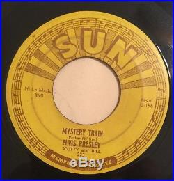 ELVIS PRESLEY MYSTERY TRAIN SUN RECORDS 223 Rare Orig. 1955