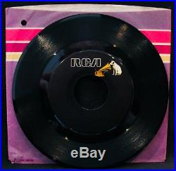 ELVIS PRESLEY-Moody Blue-Mega Rare Blank Label Variant 45-RCA VICTOR #PB 10857