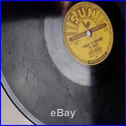 ELVIS PRESLEY Mystery Tain US SUN 223 Rockabilly Orig 78 Hear Both Sides