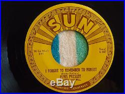 ELVIS PRESLEY Mystery Train 45 rpm SUN #223 1955 ORIGINAL ROCKABILLY