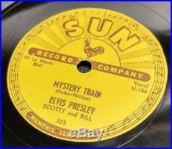 ELVIS PRESLEY Mystery Train 78 SUN 223 Rockabilly Original