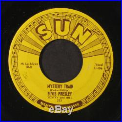 ELVIS PRESLEY Mystery Train / I Forgot To Remember To Forget 45 sm wol, sm pi