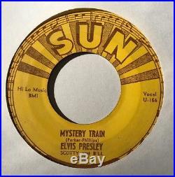 ELVIS PRESLEY Mystery Train SUN 223 ROCKABILLY 45 ORIGINAL PRESSING 45-U-156X 20