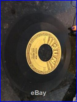 ELVIS PRESLEY Mystery Train SUN 45 RPM Record I forgot To remember to forget OG