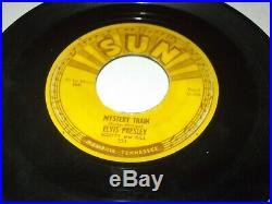 ELVIS PRESLEY Mystery Train b/w I Forgot To Remember To Forget SUN 223 Fair/Good