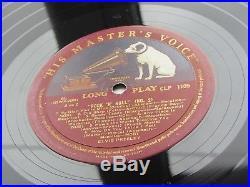 ELVIS PRESLEY ORIG 1956 UK LP ROCK N ROLL No 2 HIS MASTER'S VOICE CLP 1105